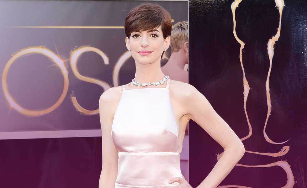 What caused Anne Hathaway to lose her mind when making 'Le Mis'?