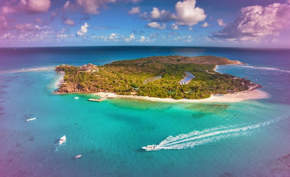 Billionaire Richard Branson Riding Out Hurricane Irma On His Private Island
