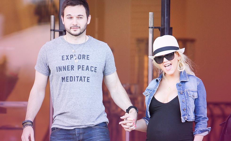 Christina Aguilera Matthew baby