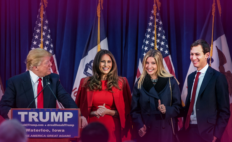 Donald Trump's Family in the White House