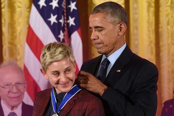 Ellen Degeneress Obama