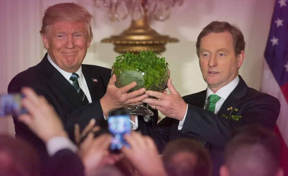 Saint Patrick's Day speech Enda Kenny Donald Trump