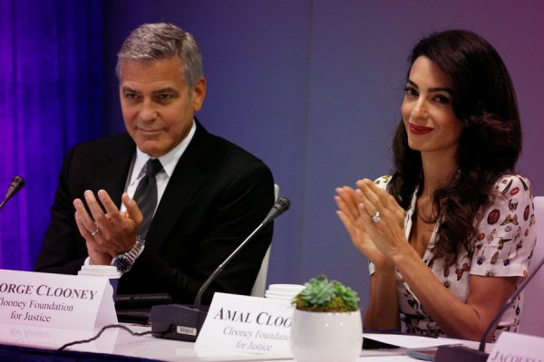 George And Amal Clooney Give $1 Million To Fight Hate In The U.S.