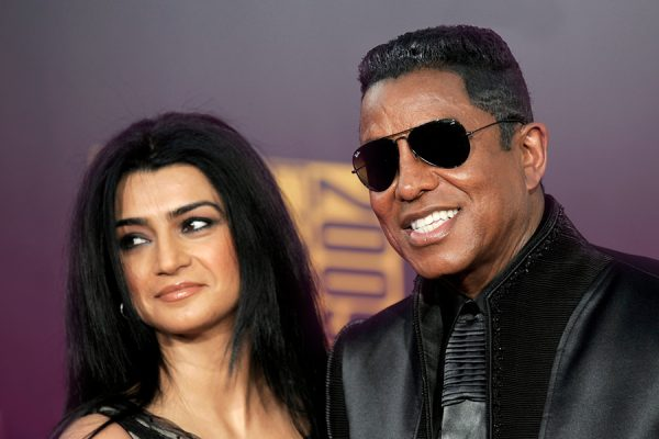 Jermaine Jackson and Wife