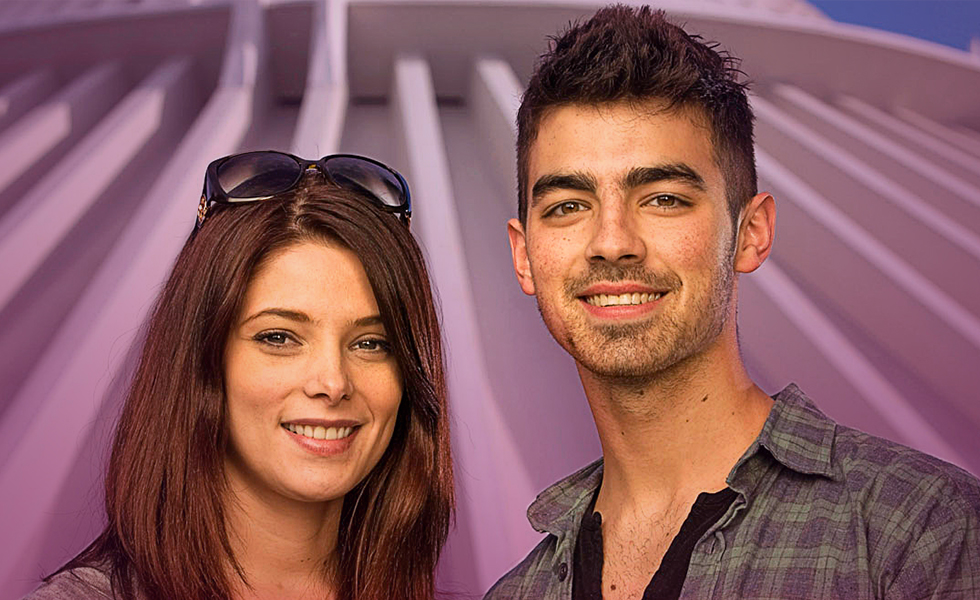 Joe Jonas, what have you done to Ashley Green?
