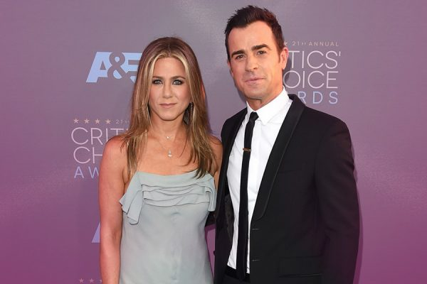 Justin Theroux and Jennifer Aniston. Happy ever after?
