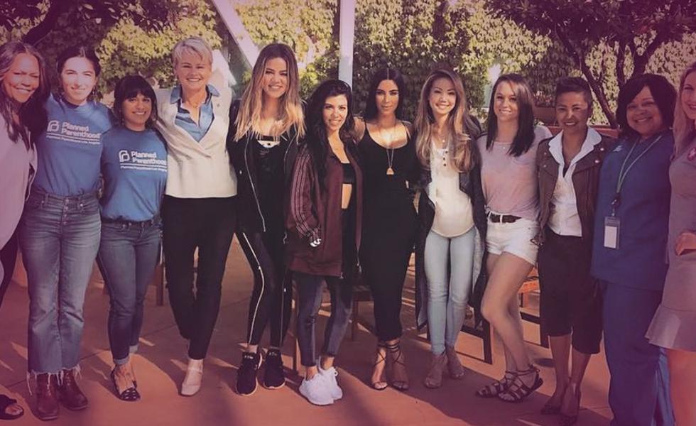 Kardashian Visit Planned Parenthood