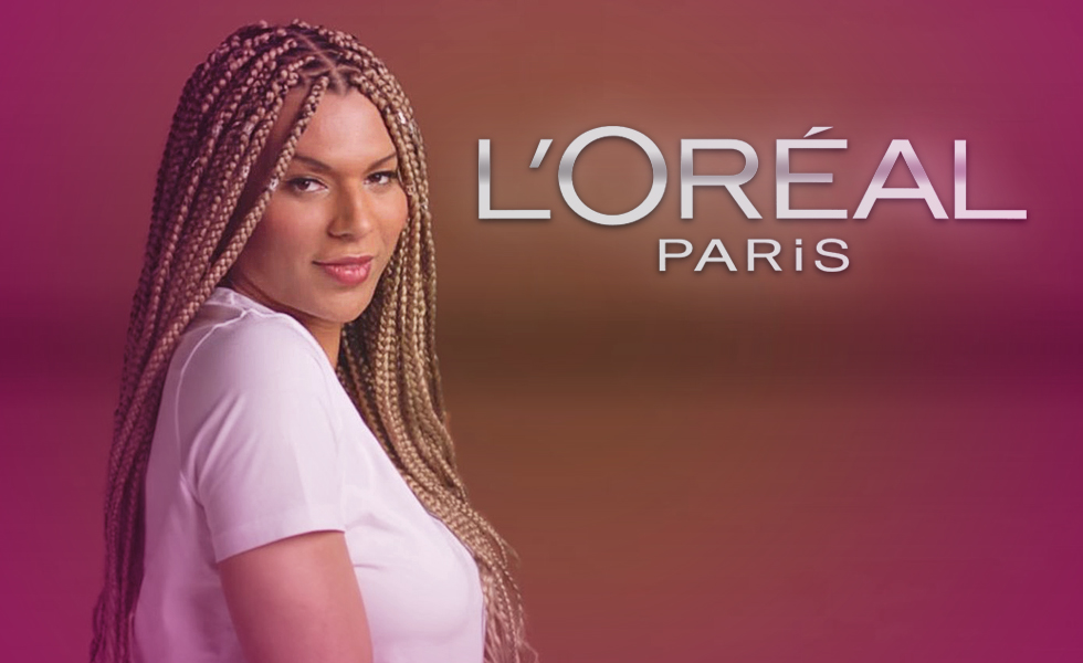 LOreal Fires Its First Trans Model After She Called Out White America's Racism