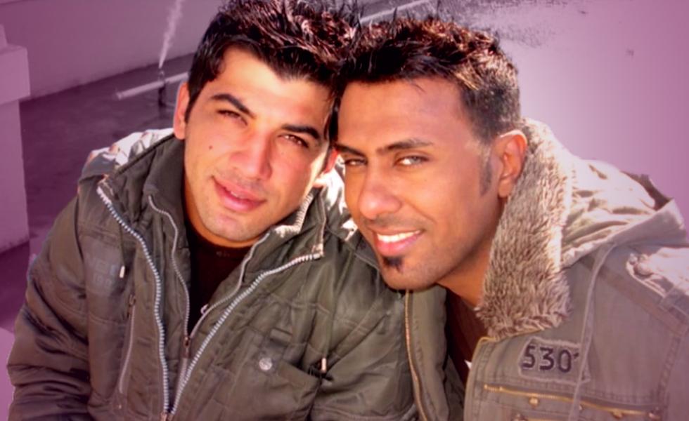 Love on the battlefield for Nayyef Hrebid and Btoo Allami: