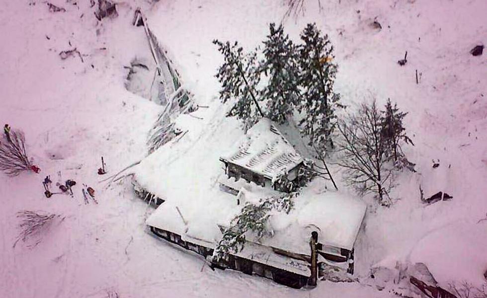 Man Survives Avalanche that hit Italian Hotel