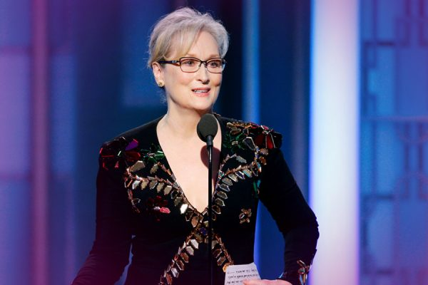 Meryl Streep and the Golden Globes