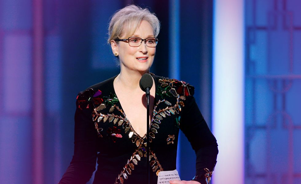 Meryl Streep and the Golden Globes
