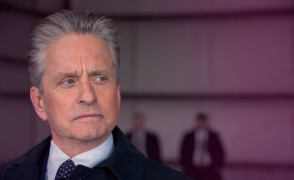 Michael Douglas falls out of love.