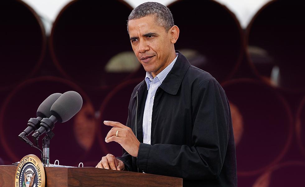 Obama Oil Pipeline