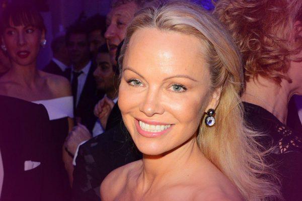 Actress Pamela Anderson Rumored To Be Dating Julian Assange