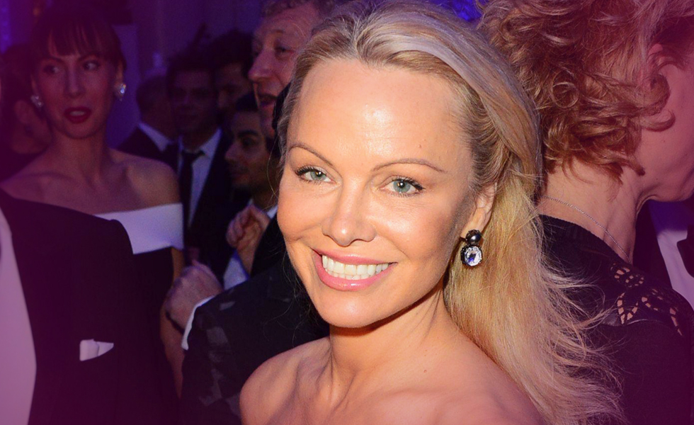 Actress Pamela Anderson Rumored To Be Dating Julian Assange