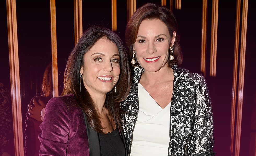 Real Housewives of New York Luann And Betheny