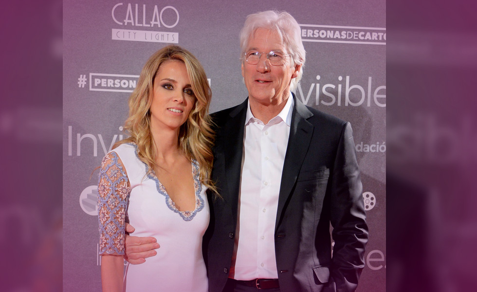 Richard Gere Gets Handsy With Girlfriend Alejandra Silva On The Red Carpet