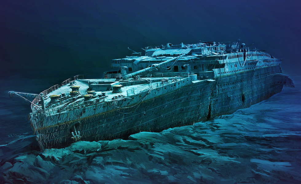 Dive into the past of Titanic for $105,000
