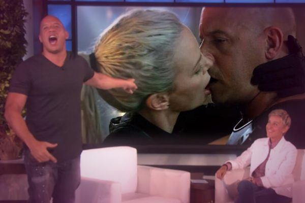 "Vin Diesel Goes on Defensive at Being Labeled ""Dead Fish"" Kisser by Charlize Theron"
