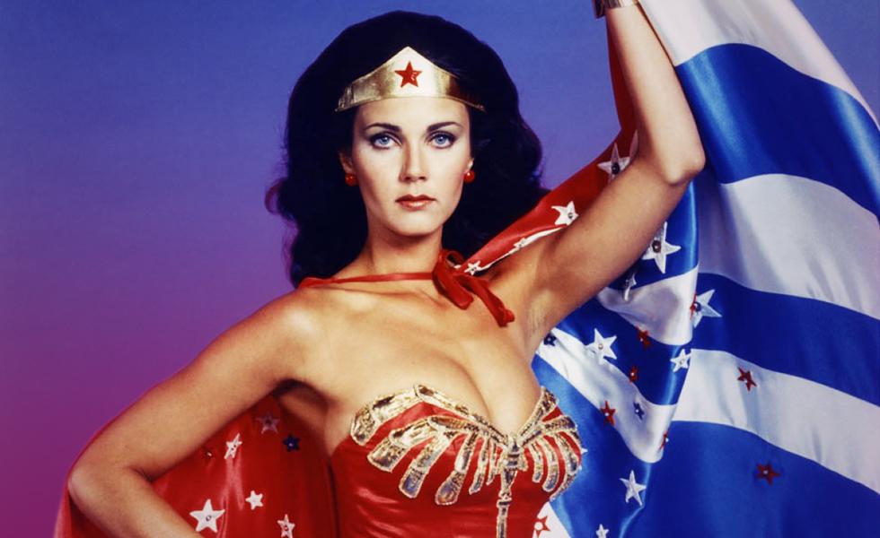 Wonder Woman Lynda Carter debuts as US President.