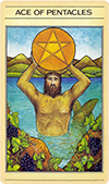 The Ace of Pentacles (Reversed)