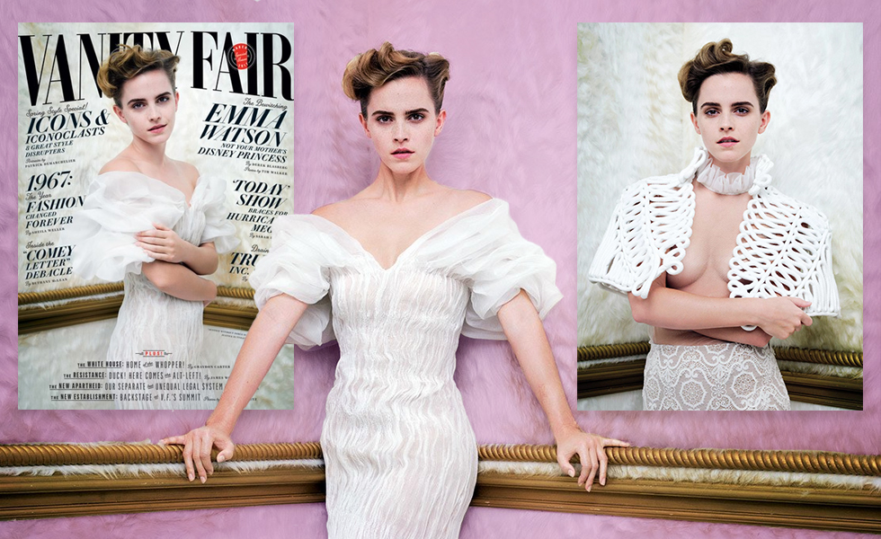 Emma Watson 's feminist views are challenged