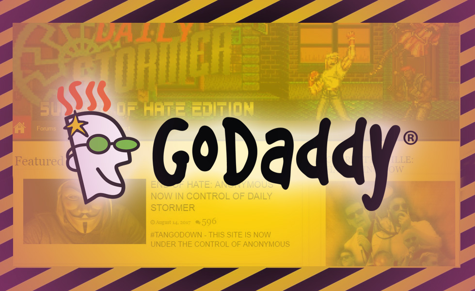 "GoDaddy Pulls The Plug On Neo-Nazi Website ""The Daily Stormer"""