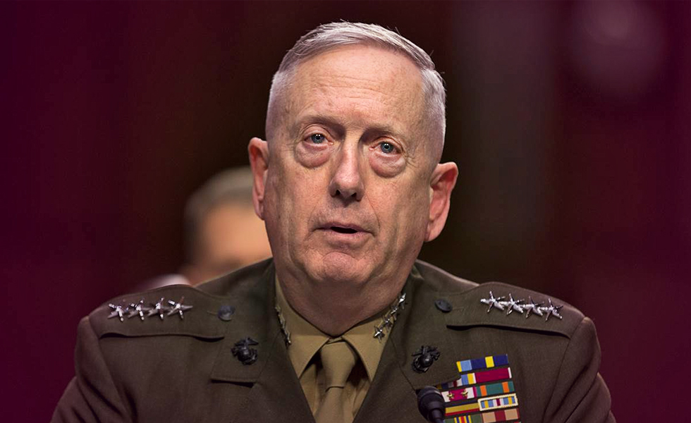 Introducing James ' Mad Dog ' Mattis