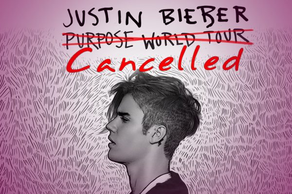 """Justin Bieber Just Canceled The Remainder Of His """" Purpose """" World Tour"""