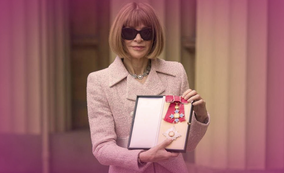 Vogue Editor Anna Wintour Given Title of Dame by Queen Elizabeth