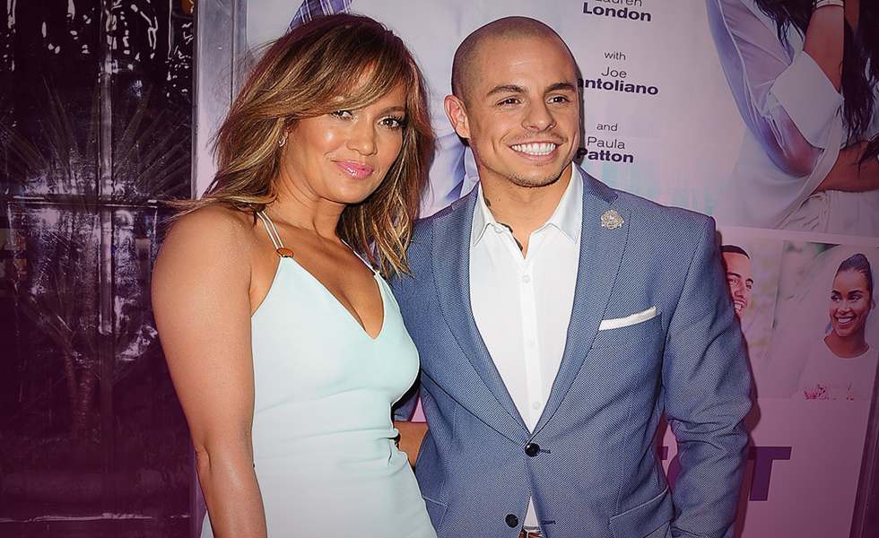 Jennifer Lopez Casper Smart Split