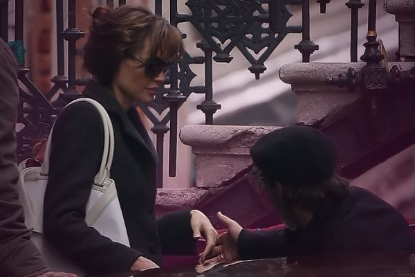 Angelina Jolie Brad Pitt brunch