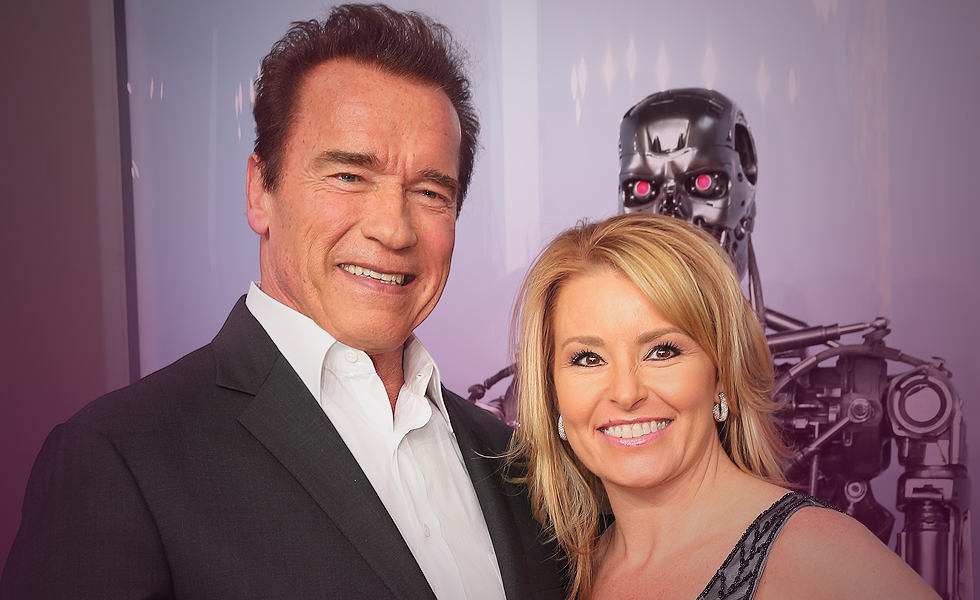 Arnold Schwarzenegger heather milligan