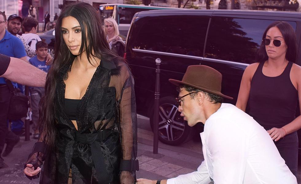 Kim Kardashian prank