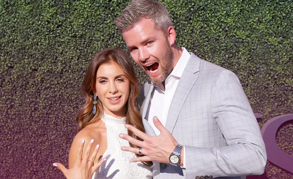 Emilia Bechrakis Ryan Serhant Married