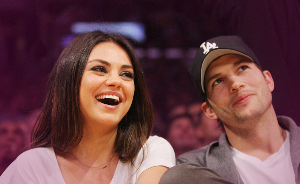 Ashton and Mila fight over baby names