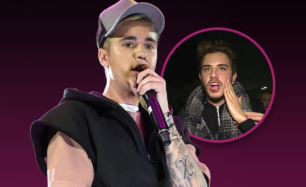 Justin Bieber Hits Fan