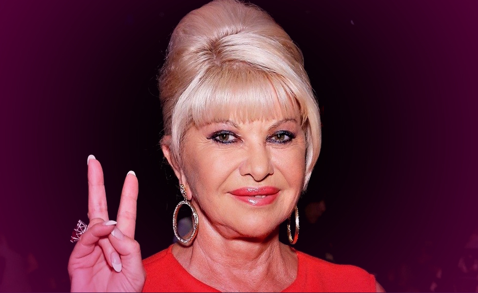 Ivana Trump out to support Donald.