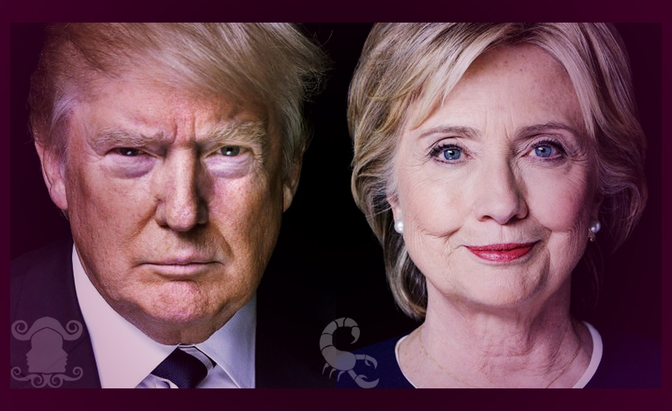 Trump and Clinton – Weekly Celebrity Horoscope