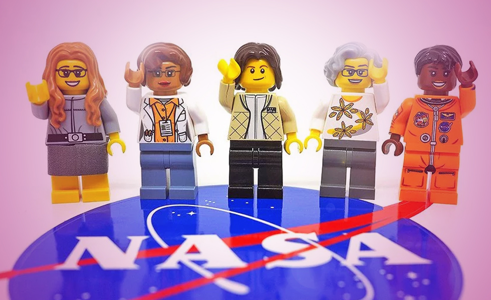 LEGO 's new collection honours NASA Women