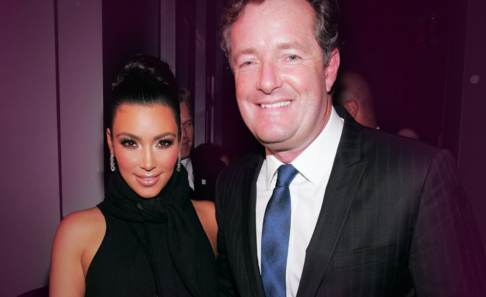 Piers Morgan Needs To Stop This Weird Crusade To Destroy Kim Kardashian