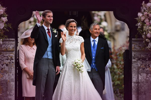 Pippa Middleton Marries James Matthews In Beautiful Ceremony With Lots of Royals!