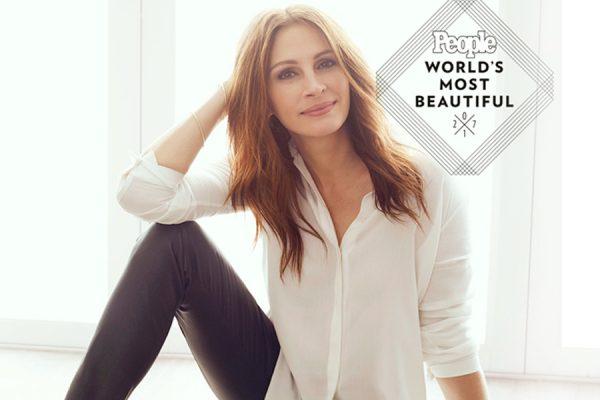 Julia Roberts People's 'World's Most Beautiful Woman'