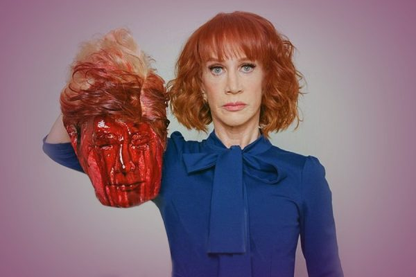 Kathy Griffin Suffers The Comedy Consequences For a Joke She Can't Defend