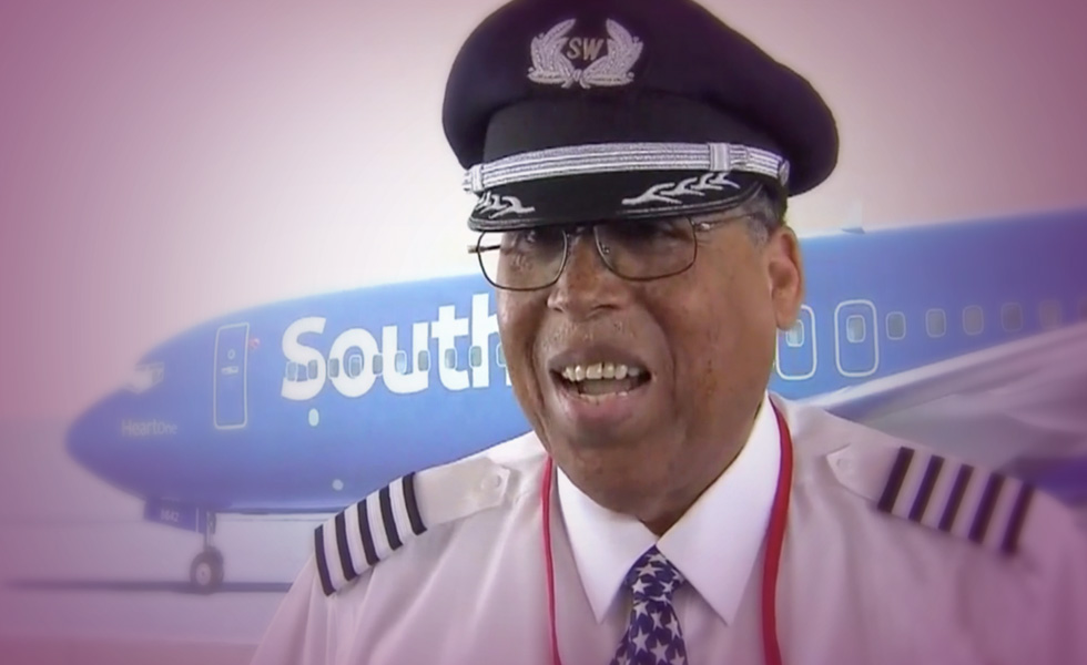 Louis Freeman Southwest's First Black Pilot Retires After 37 Years With A Tear-Jerking Sendoff