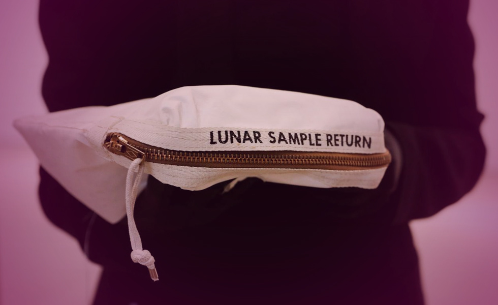Neil Armstrong's Long-Lost Moon Bag To Fetch Up To $4 Million At Auction
