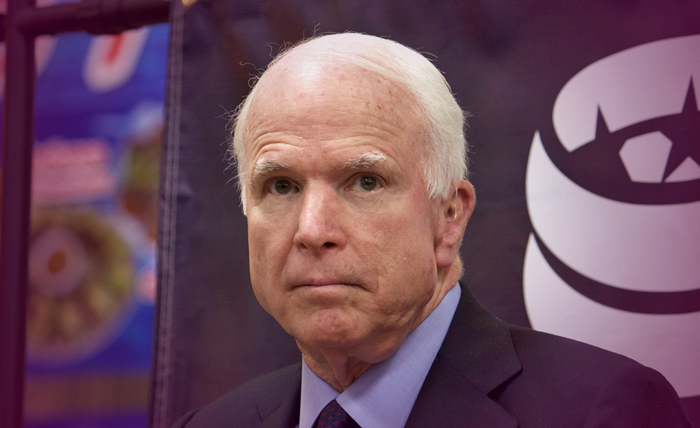 U.S. Senator John McCain Diagnosed With Cancerous Brain Tumor
