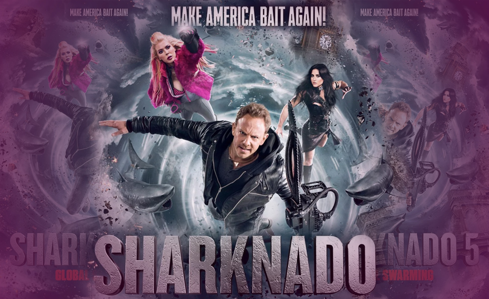 """ Sharknado "" Stars Had The Best Reactions When They Got The Movie Script"