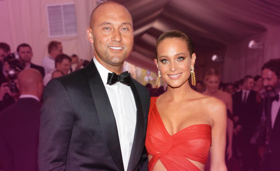 Baseball Legend Derek Jeter And Wife Hannah Welcome Their First Child